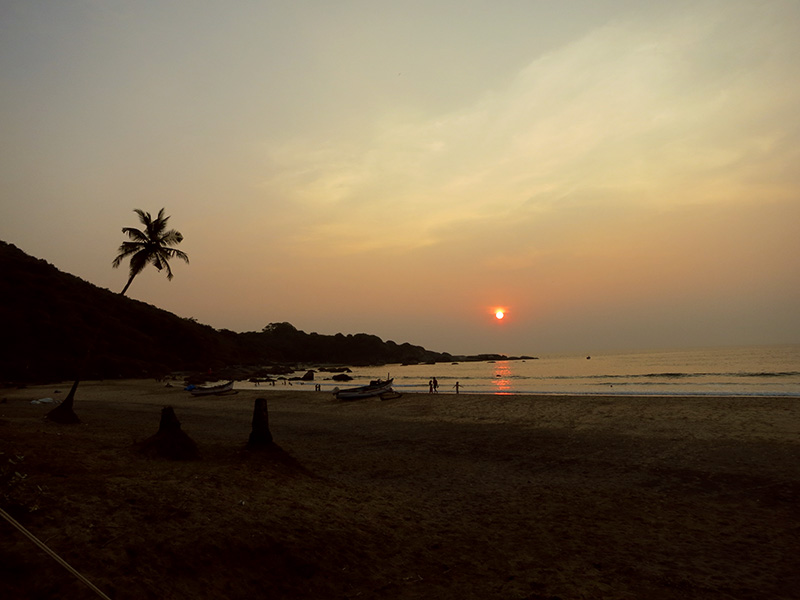 Sunset in Agonda